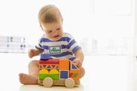 Ettåring i barnehage. Foto: Colourbox