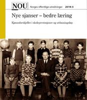 Foto: Forside «Nye sjanser - bedre læring» NOU 2019:3.