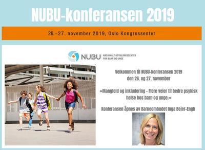 NUBU-konferansen 2019: Konferansen åpnes av Barneombudet Inga Bejer-Engh.