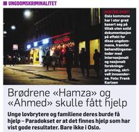 Utsnitt Dagbladet